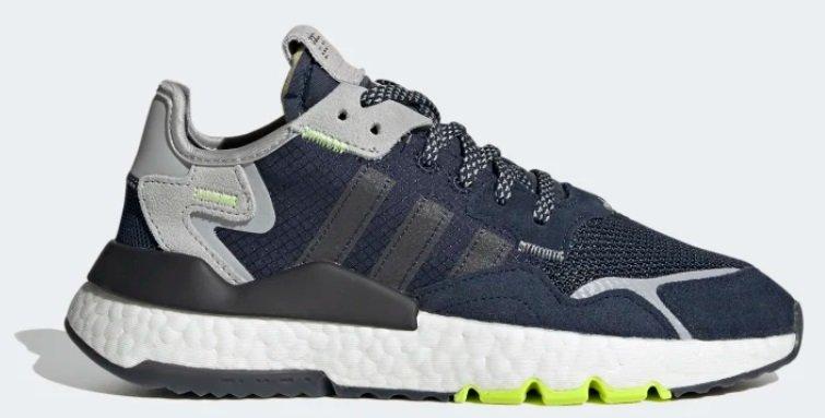 Adidas Nite Jogger J Kids Unisex Sneaker für 55,98€ (statt 73€)