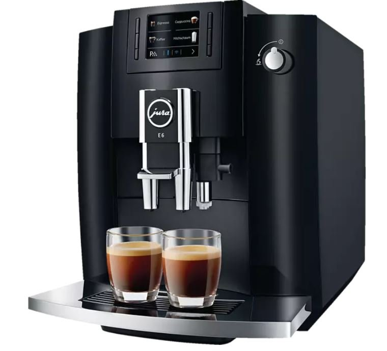 Jura E6 Kaffeevollautomat (2019) für 588,22€ inkl. Versand (statt 690€)