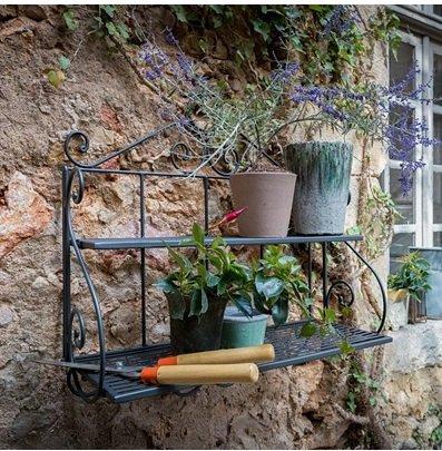 Unopiu - exquisite Gartenmöbel im Sale, z.B. Wandregal für 159,99€ zzgl. VSK