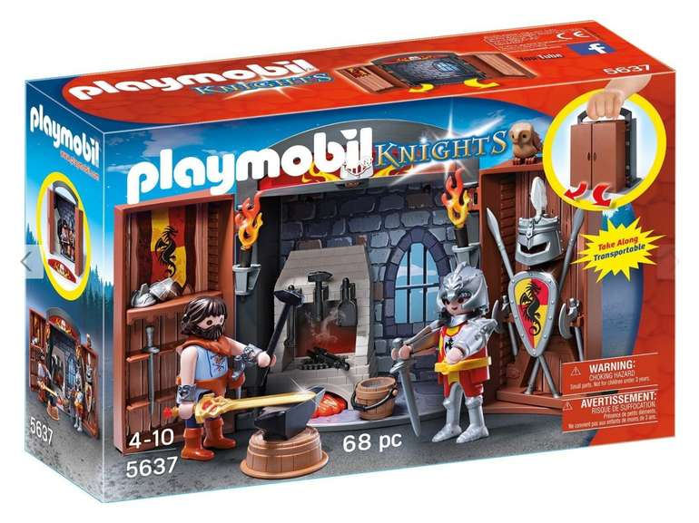 Playmobil - Knights' Armory Play Box (5637) für 14,94€ inkl. Versand (statt 19€)