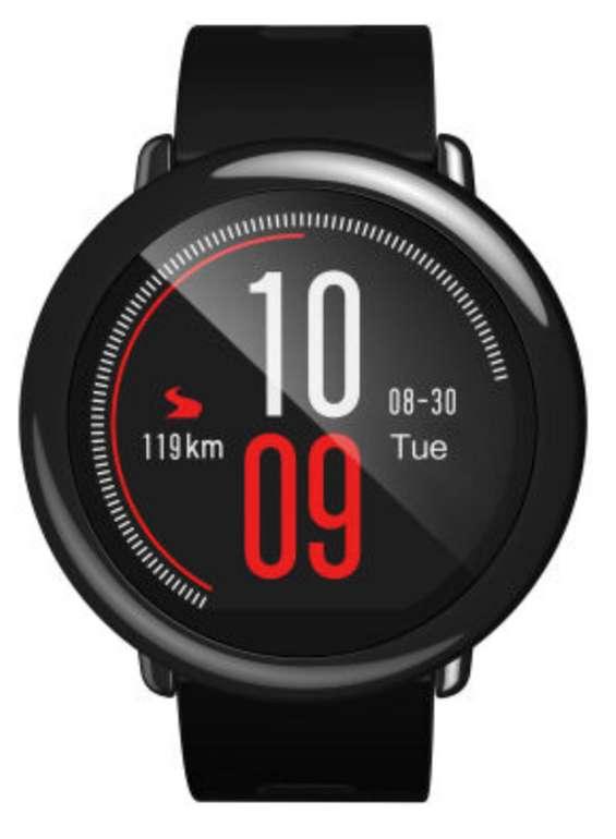 Xiaomi Huami Amazfit Pace Smartwatch in schwarz für 73,98€ inkl. Versand (statt 98€)