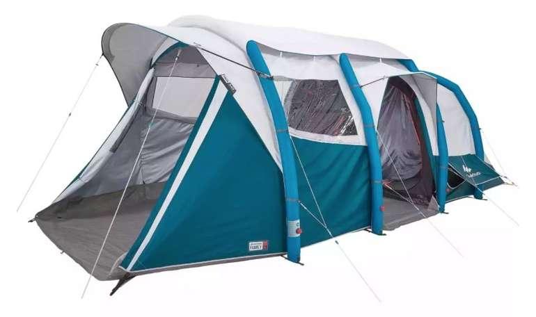 Quechua Air Seconds Family 6.3 XL - aufblasbares Familienzelt (6 Personen in 3 Schlafkabinen) für 403,98€
