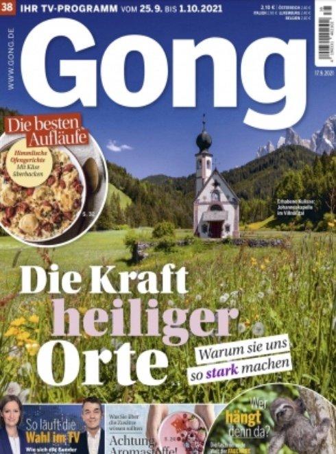 TV Magazin: Gong im Jahresabo für 29,95€ (statt 130€)