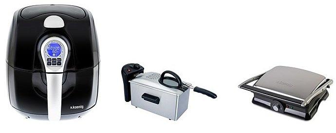 Klein-Elektro Haushaltssale z.B. H.KOENIG Mikrowelle VIO34 für 229,94€