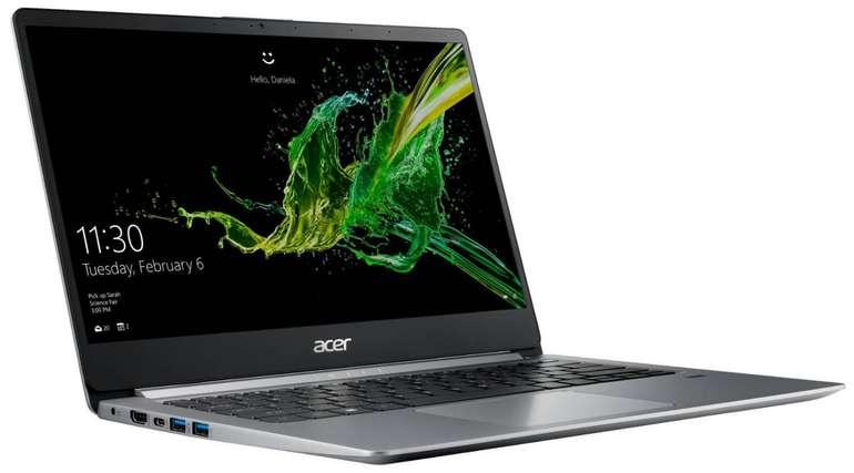 """14"""" Acer Swift 1 (SF114-32-P5L1) mit Silver N5000 und 64GB eMMC für 309€"""