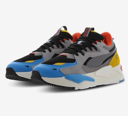 Puma RS-Z Herren Sneaker Grau/ Blau/ Gelb für 59,99€ inkl. Versand (statt 82€)