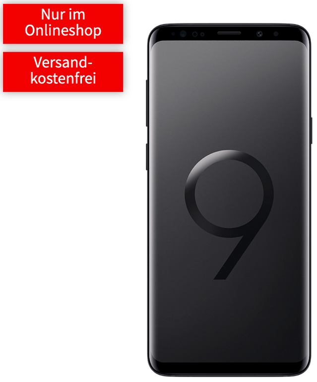 Galaxy S9+ (79€) + o2 Free M Boost (20GB LTE, Allnet, SMS-Flat) für 26,24€ mtl.