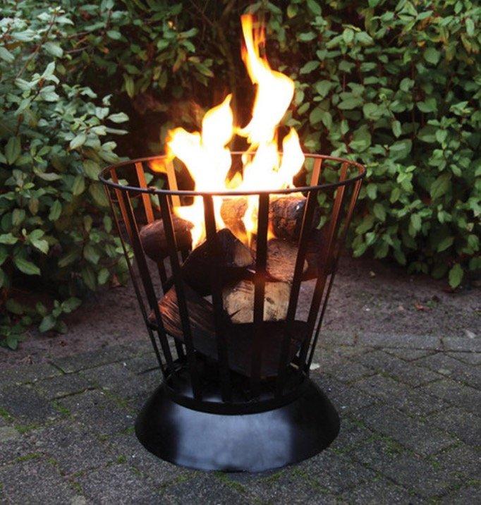 Esschert Design Feuerschale/-korb (umdrehbar, Ø 47 cm) für 35,90€ inkl. Versand (statt 50€)