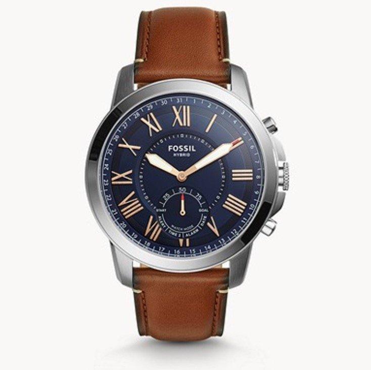 Fossil Grant FTW1122 Herren Hybrid Smartwatch für 85,85€ (statt 149€)