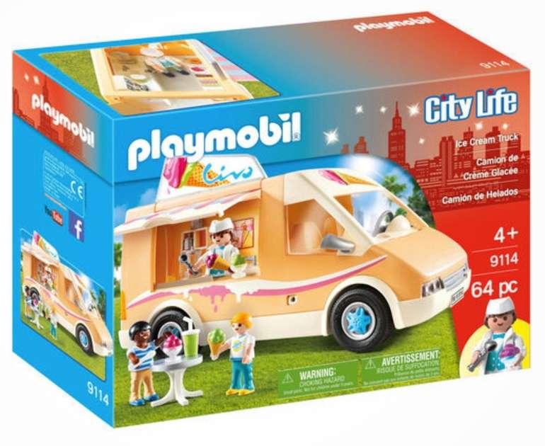Playmobil City Life - Eiswagen (9114) für 23,98€ inkl. Versand (statt 33€)