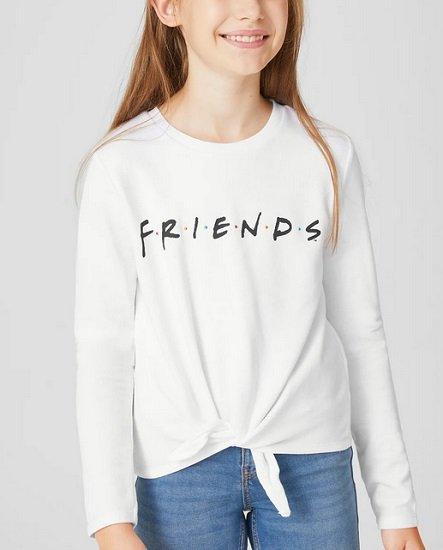 C&A Kids FRIENDS Sweatshirt für 7,49€ inkl. Versandkosten (statt 13€)