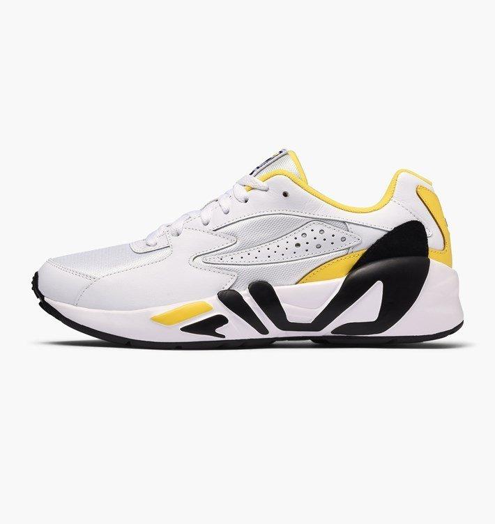 Fila Mindblower Men Herren Sneaker in White Empire Yellow Black für 46,40€ (statt 65€)