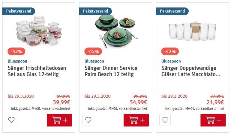 REWE Sänger Sale