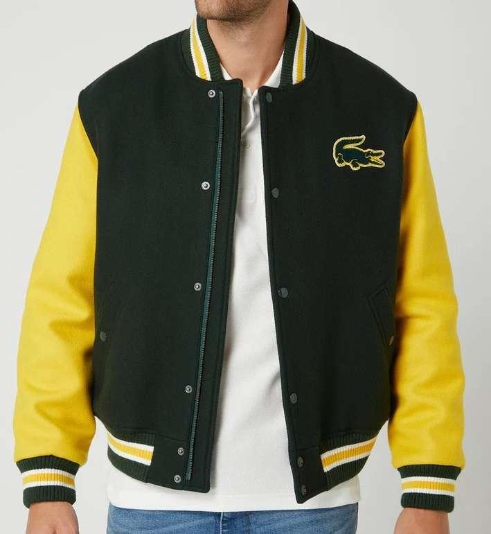 Lacoste Herren College-Jacke mit Logo für 359,99€ inkl. Versand (statt 427€)