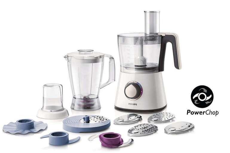 Philips HR7761/00 Viva Collection Küchenmaschine 750 Watt für 59,99€ (statt 70€)