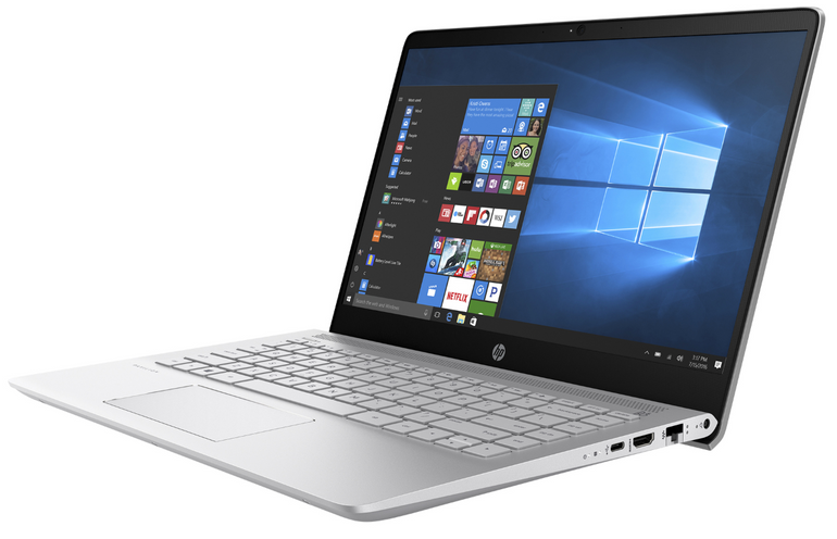"HP Pavilion 14-bf007ng - 14"" Notebook (FHD, i5, 8GB, 256GB SSD, Win10) 479,20€"