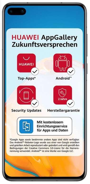 Huawei P40 (29€) oder Samsung Galaxy S10 (79€) + o2 Free M Allnet Flat mit 20GB LTE für 24,99€ mtl.