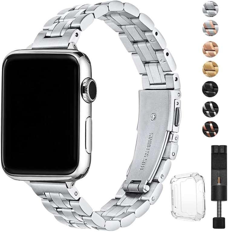 Hekai Ersatzarmband (kompatibel mit Apple Watch) in 2 Größen ab 10,99€ inkl. Prime Versand (statt 22€)