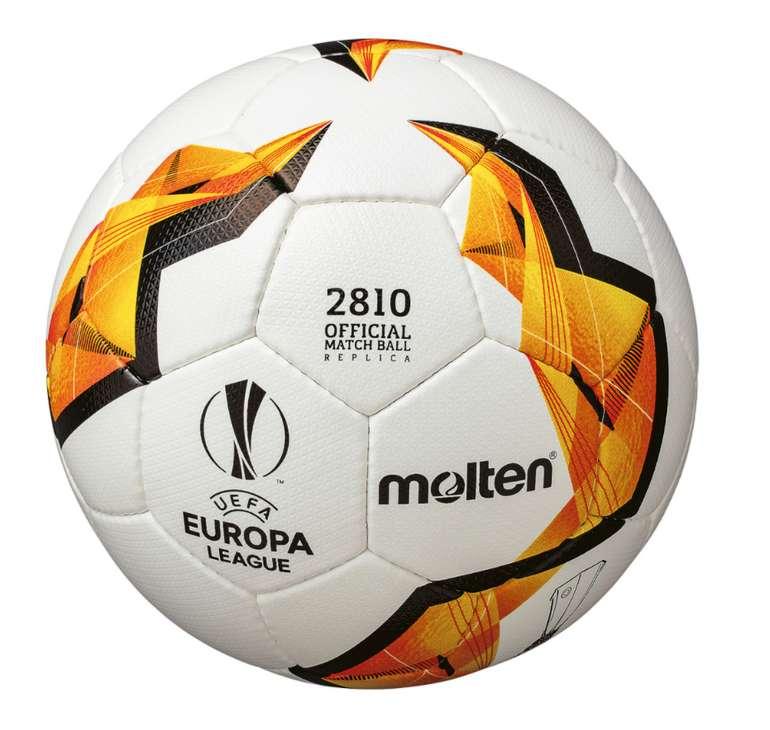 Molten Fußball Sale bei SportSpar: z.B  Fußball UEFA Europa League Trainingsball für 11,54€ inkl. Versand (statt 20€)