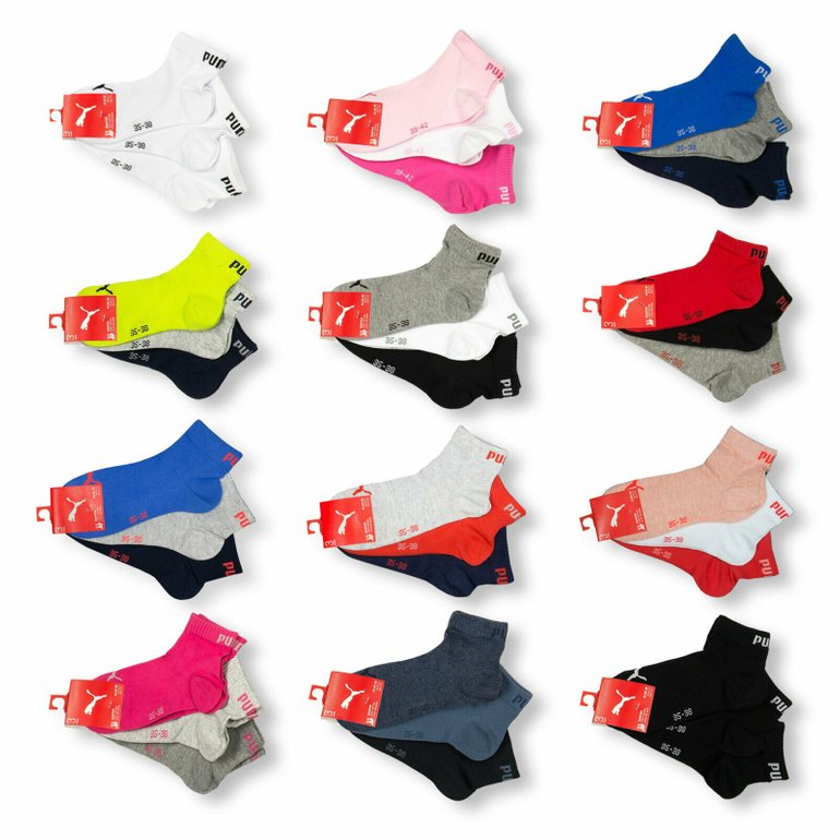 """15er-Pack Puma Unisex Quarter Socken """"Clyde"""" für 29,99€ inkl. Versand (statt 35€)"""