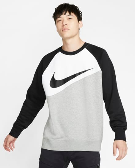 Nike Sportswear Swoosh-Rundhalsshirt für 34,10€ inkl. Versand (statt 60€) - Nike Member!