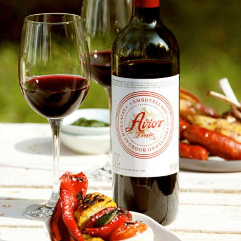 6 Flaschen Avior Crianza 2016 Rioja Tempranillo spanischer Rotwein für 41,90€