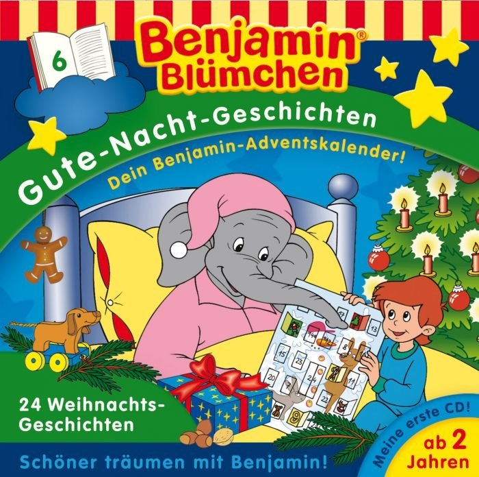 Kiddinx Adventskalender: Kostenlose Benjamin Blümchen Hörspiele (statt 0,99€)