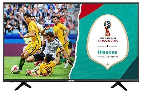 "Hisense H43NEC5205 – 43"" 4K Ultra-HD TV für 305,94€ inkl. Versand (statt 350€)"