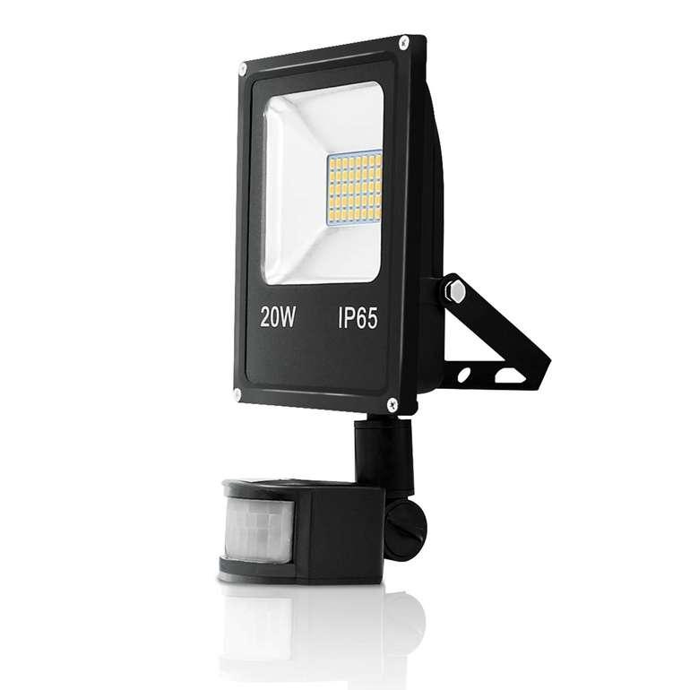 Vingo LED Strahler mit Bewegungsmelder im Angebot, z.B. 20 Watt für 10,99€