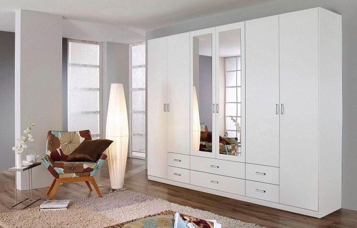 Rauch Kleiderschrank 271cm x 210cm x 54cm mit 6 Türen für 279,99€ inkl. VSK
