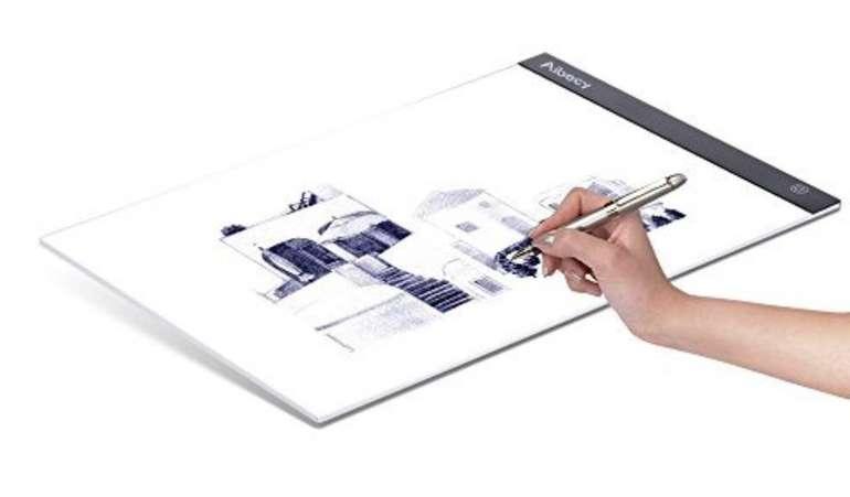 Aibecy A3 LED Light Box Zeichenbrett für 16,49€ inkl. Versand (statt 33€)
