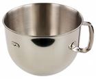 KitchenAid 5KR7SB Edelstahl Rührschüssel mit 6,9L Volumen für 44,44€ (statt 65€)