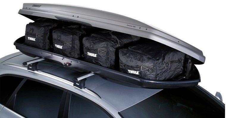 Thule Dynamic M Dachbox (Titan glänzend / 320 Liter) für 487,40€ (statt 689€) – nur Abholung!