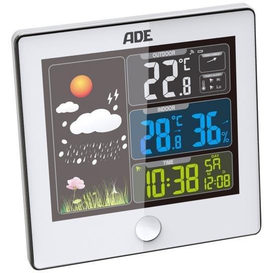 Ade Wetterstation mit Außensensor Ws 1402 für 11,11€ inkl. Versand (statt 18€) - B-Ware