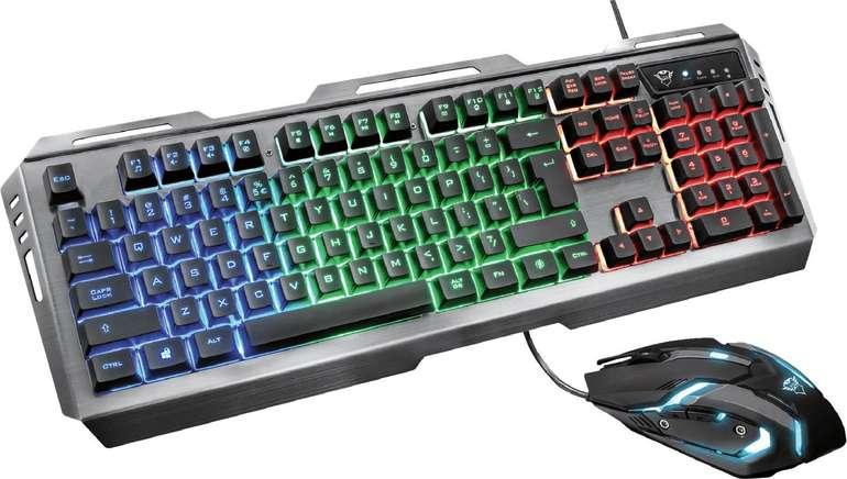 Trust GXT 845 Tural Gaming Combo (Tastatur + Maus) für 24,99€ inkl. Versand (statt 31€)