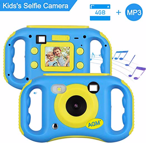 AGM MP3 Kinder- Digitalkamera mit LCD-Display für 29,99€ (statt 40€)