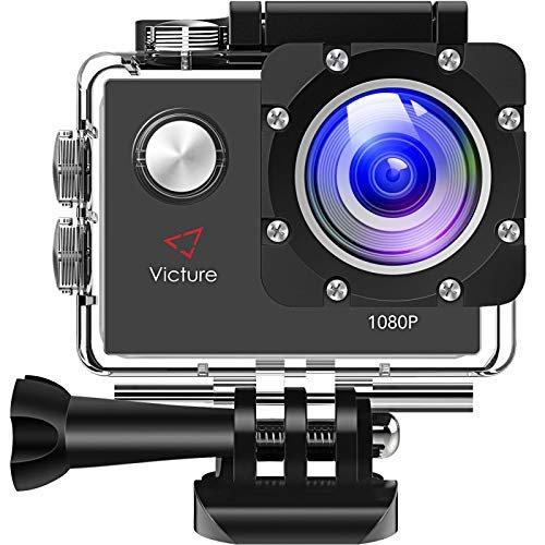 Victure Actioncam 1080P/12MP mit 170° Weitwinkel für 17,99€ inkl. Versand (statt 26€)