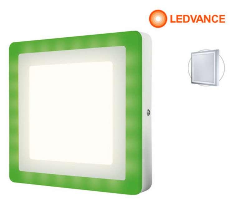 Ledvance LED-Panel Color + White Wand-/Deckenleuchte (200 mm) für 33,90€ inkl. Versand (statt 42€)