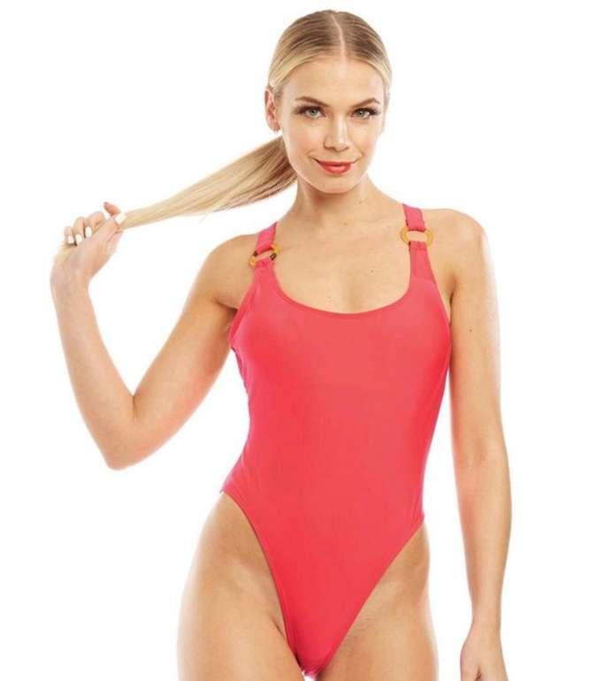 Brave Soul Damen Badeanzug Laura in dunkelrot für 15,44€ inkl. Versand (statt 27€)