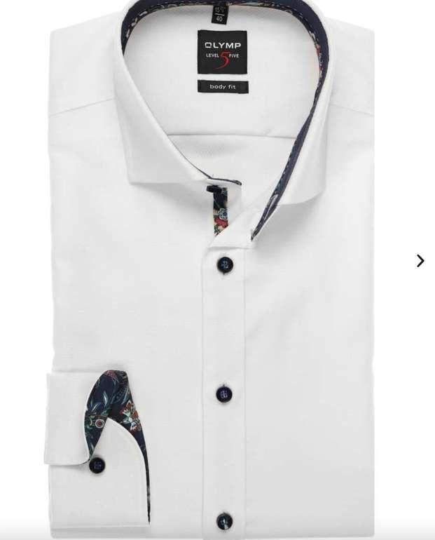 17% Rabatt auf alles bei Hemden.de (auch Sale) - z.B. Olymp Level Five Body Fit Hemd für 24,85€ (statt 60€)