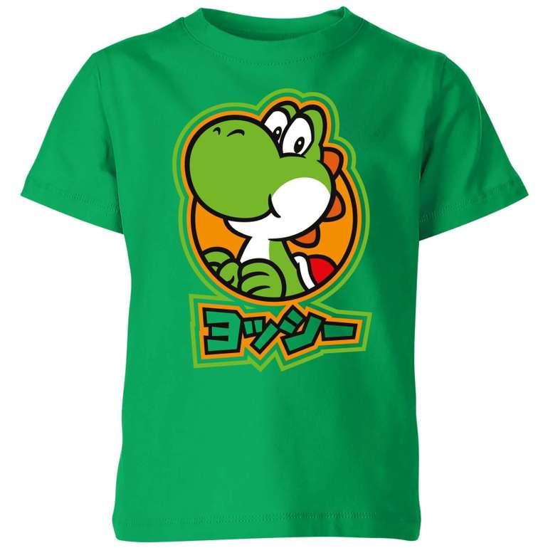 3 Kinder T-Shirts mit verschiedenen Motiven (Nintendo, Marvel etc.) für nur 22€ inkl. VSK