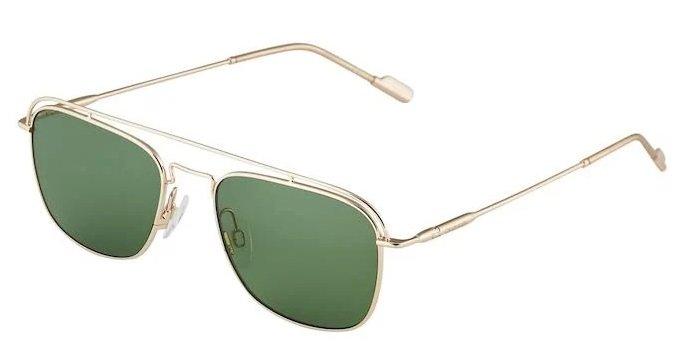 """Calvin Klein Herren Sonnenbrille """"21107S"""" in Gold / Grün für 71,11€ inkl. Versand (statt 86€)"""