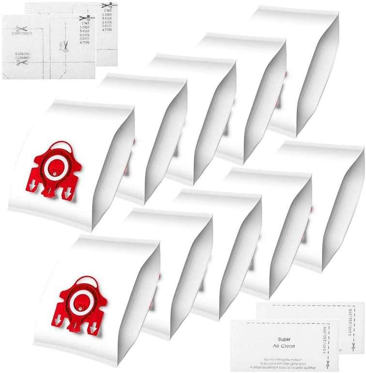Newdora 10er Pack Staubsaugerbeutel (für Miele FJM, C1, C2) für 9,69€ inkl. Prime Versand (statt 19€)