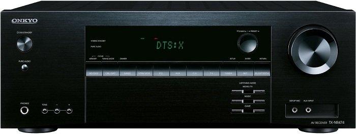 Onkyo TX 474E-B Receiver mit Atmos, WLAN, DTS:X, AirPlay für 272€ (statt 316€)