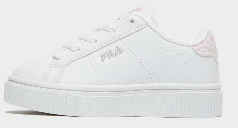 Fila Panache Baby Sneaker in Weiss für 20€ inkl. Versand (statt 35€)