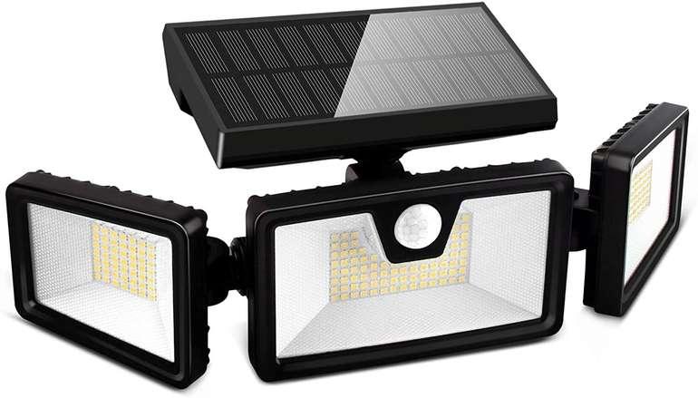 Otdair Solarlampe mit Bewegungsmelder (3 Modi, IP65) für 11,99€ inkl. Prime Versand (statt 20€)