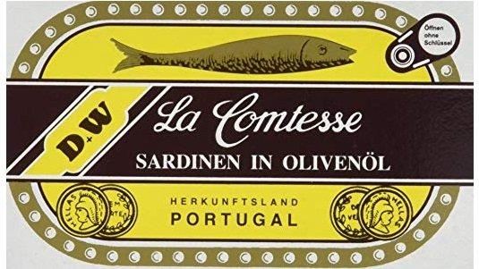 Fehler? 10er Pack La Comtessa Sardinen in Olivenöl für 4,80€ mit Prime