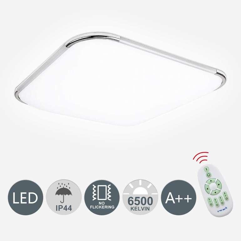 Hengda - verschiedene dimmbare LED Deckenleuchten reduziert, z.B. 24W für 24,49€