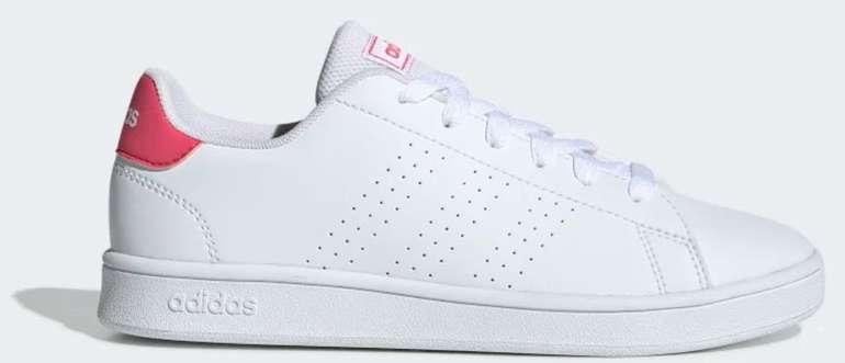 """Adidas Advantage Sneaker im """"White/Real Pink""""-Colourway für 23,85€ (statt 30€) - Creators Club!"""