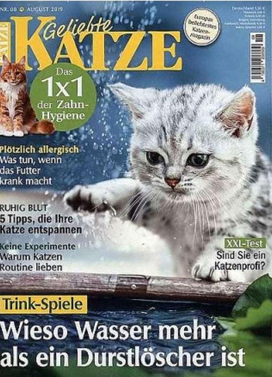 """Jahresabo """"Geliebte Katze"""" für 41,80€ + z.B. 25€ Douglas Gutschein"""